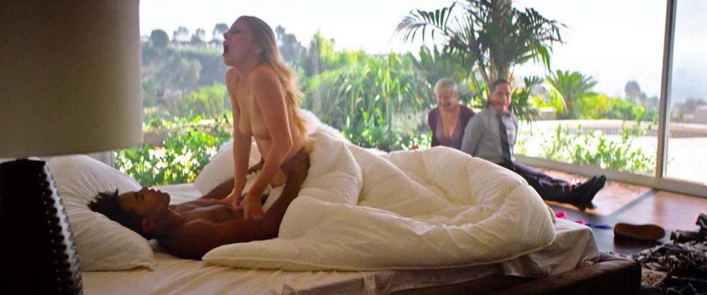 Busty Blonde Alena Savostikova Riding Cock and Showing Tits video screenshot 1