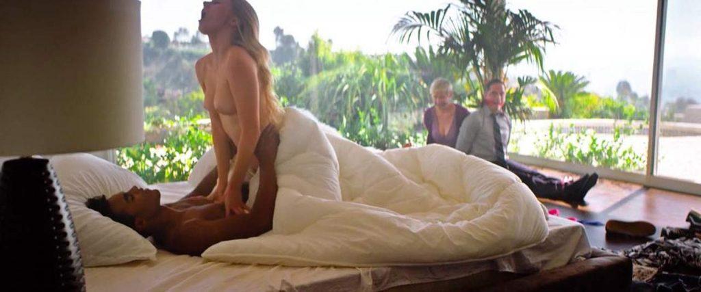 Busty Blonde Alena Savostikova Riding Cock and Showing Tits video screenshot 2